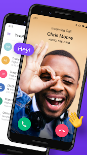 TextNow Texting Calling App v20.39.0.2 PRO APK 2