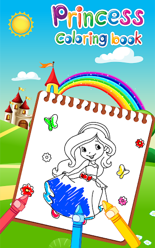 Princess Coloring Book for Kids & Girls 🎨 1.13 Cheat screenshots 1