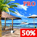 Beach In Bali 3D PRO LWP icon