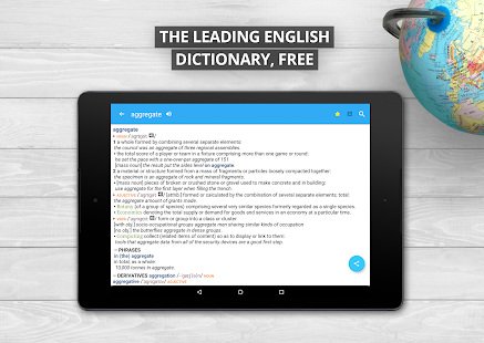 Oxford Dictionary of English Screenshot