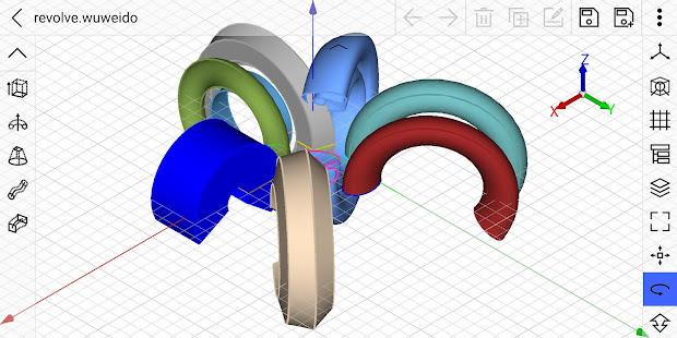 free cad 3D modeling-w U for do