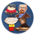 Tv Series Stickers for Whatsapp APK