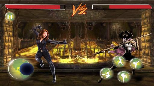 Thanos Vs grand superhu00e9ros Infinity Lutte Battle  captures d'u00e9cran 11