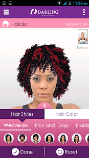 Darling Hair Booth- screenshot thumbnail