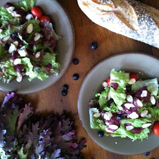 Blueberry Vinaigrette Makes Salad Perfect