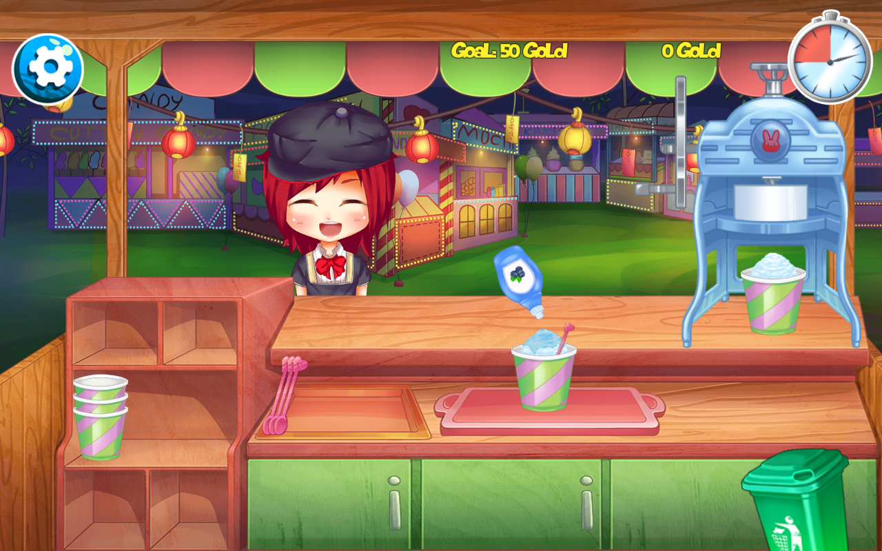 Festival Snack Stand Ice Cream- screenshot