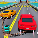GT Racing Chained Car Stunts icon