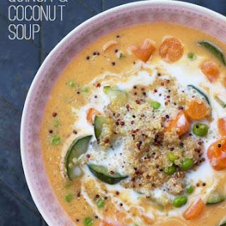 Quinoa & Coconut Soup