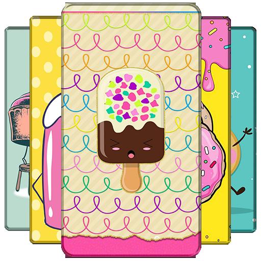 Food Kawaii Wallpaper Aplikacie V Sluzbe Google Play