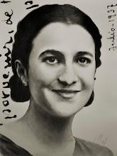 Photo: Mari, 1937. Grafito