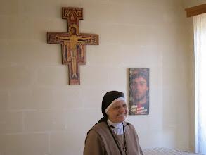 Photo: 13.10.12StJulien : Sœur Ellis, Mère Abesse, intervention, au monastère des Clarisses