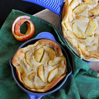 Caramel Apple & Irish Whiskey Clafoutis