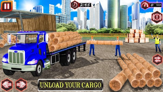cargo truck drive simulator 2018 - náhled