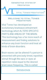 Vital Tones Meditation- screenshot thumbnail