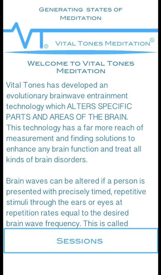 Vital Tones Meditation- screenshot