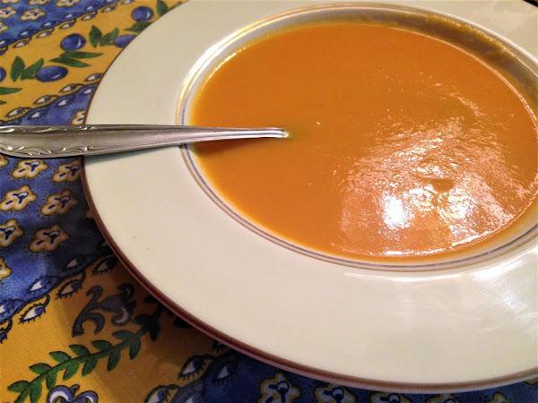 Sopa De Cenoura - Carrot Soup - Portugal Recipe