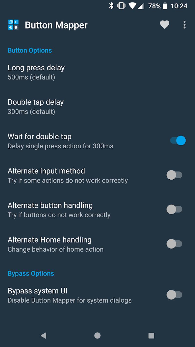 Button Mapper: Remap your keys Screenshot 5