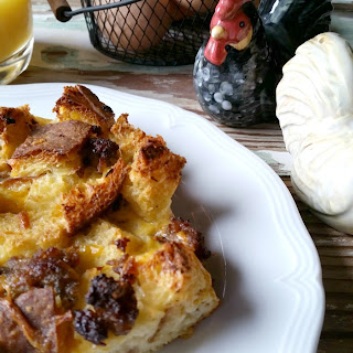 Egg Sausage Souffle
