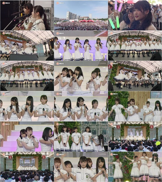 (TV-Music)(1080i) 欅坂46 – お台場みんなの夢大陸めざましライブ 2016 160901