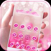 Pink bubble theme