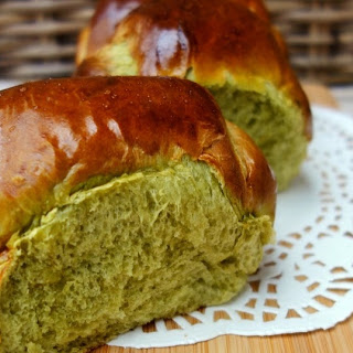 Matcha Hokkaido Milk Bread.