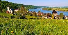 Вдоль Сены, деревня Villequier