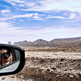 A Road Trip to the Desert by Eewoj Alcala - Landscapes Deserts