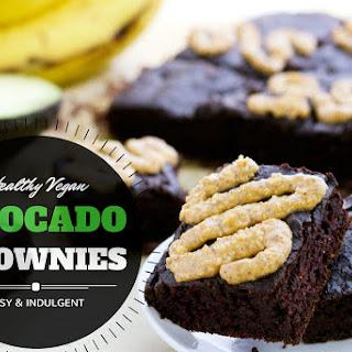 Easy Vegan Avocado Brownies (Made in a Blender!).