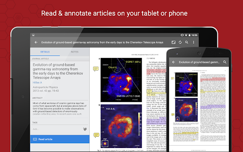 Mendeley- screenshot thumbnail