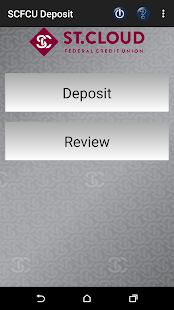 SCFCU Mobile Deposit™- screenshot thumbnail