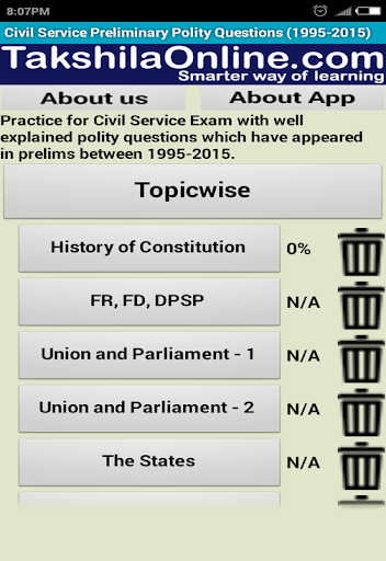 UPSC Prelims IAS Pre Solutions 8.6 screenshots 7