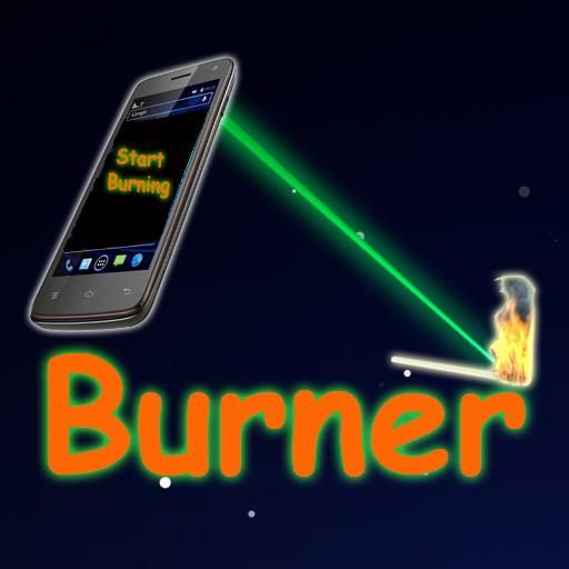 Laser Burner Prank