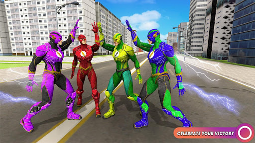 Speed Flash Superhero Fighting City Rescue 1.1.1 screenshots 8