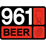 Logo for 961 Beer - Gravity Brewing