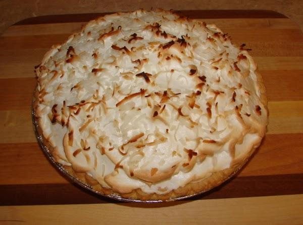 Mema's Coconut Cream Pie Recipe