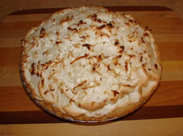 Mema's Coconut Cream Pie Recipe