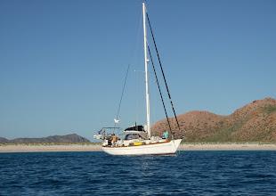 Photo: Anchored at Puerto Los Gatos