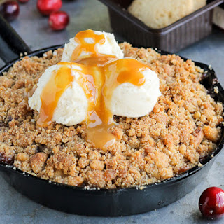 Pear Cranberry Ginger Crisp