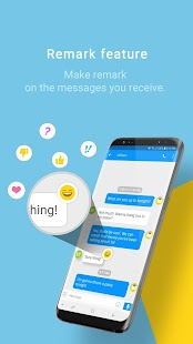 Handcent Next SMS (Best texting with MMS,stickers) Screenshot