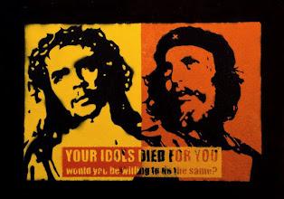 """Foto: """"Ernesto CHE Christ & Jesus Guevara""""  NON DISPONIBILE"""