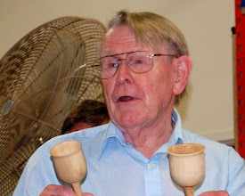Photo: Russ Iler turned two goblets and if you turn two ...