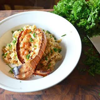 Lobster & Shrimp Risotto.