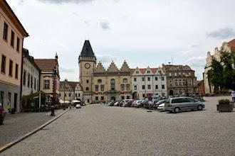 Photo: Stary Ratusz w Taborze.Jest jednym z najważniejszych zabytków późnogotyckich w Czechach.