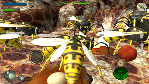 Wasp Nest Simulator - Insect and 3d animal game  screenshots 1