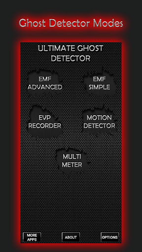 Screenshot for Ultimate Ghost Detector (real EMF, EVP recorder) in Hong Kong Play Store
