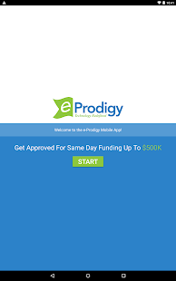 eProdigy Financial- screenshot thumbnail