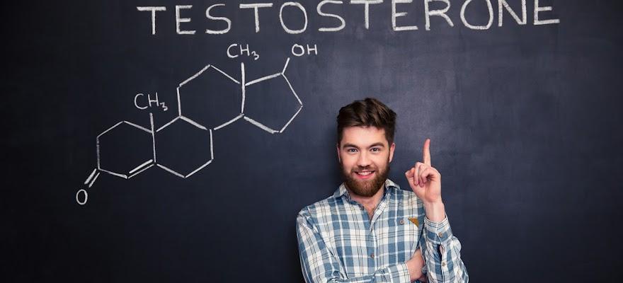 Mężczyzna i hormon testosteronu