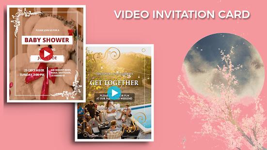 Video Invitation Maker Birthday Ecards Invites V20 0 Mod