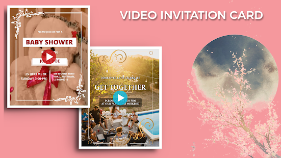 Video Invitation Maker Birthday Ecards Invites V 20 0 Apk
