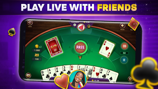 Gin Rummy Online - Free Card Game filehippodl screenshot 2